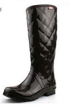 Designer Fashion Quality Thermal-Lined Women's Rain Boots 3 Colors