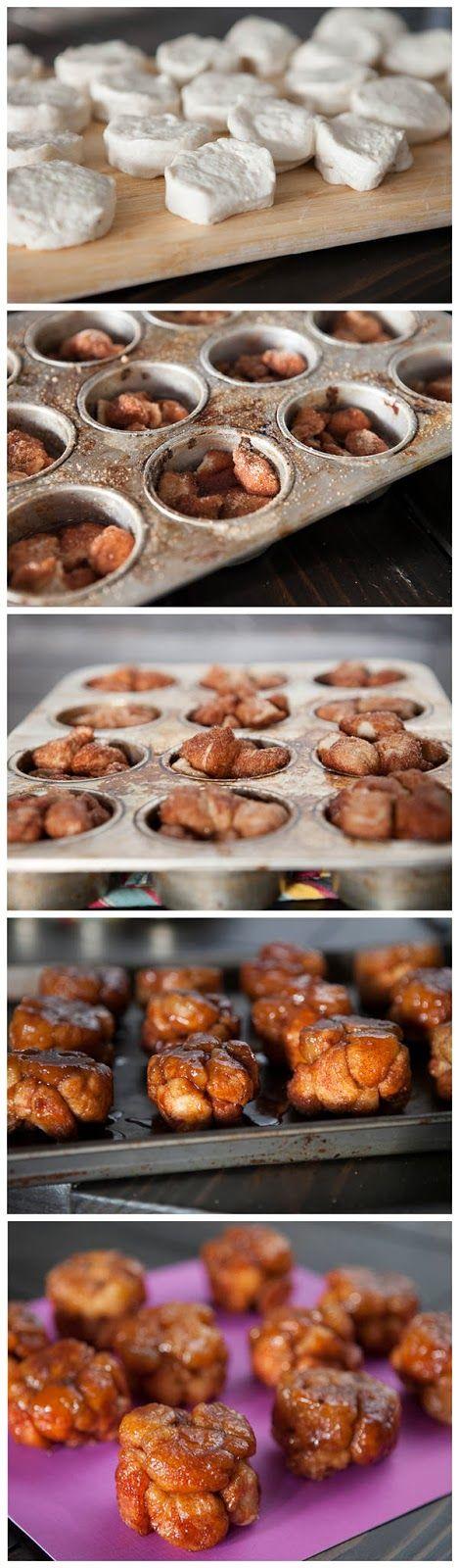 Red Star Recipe: Monkey Bread Muffins