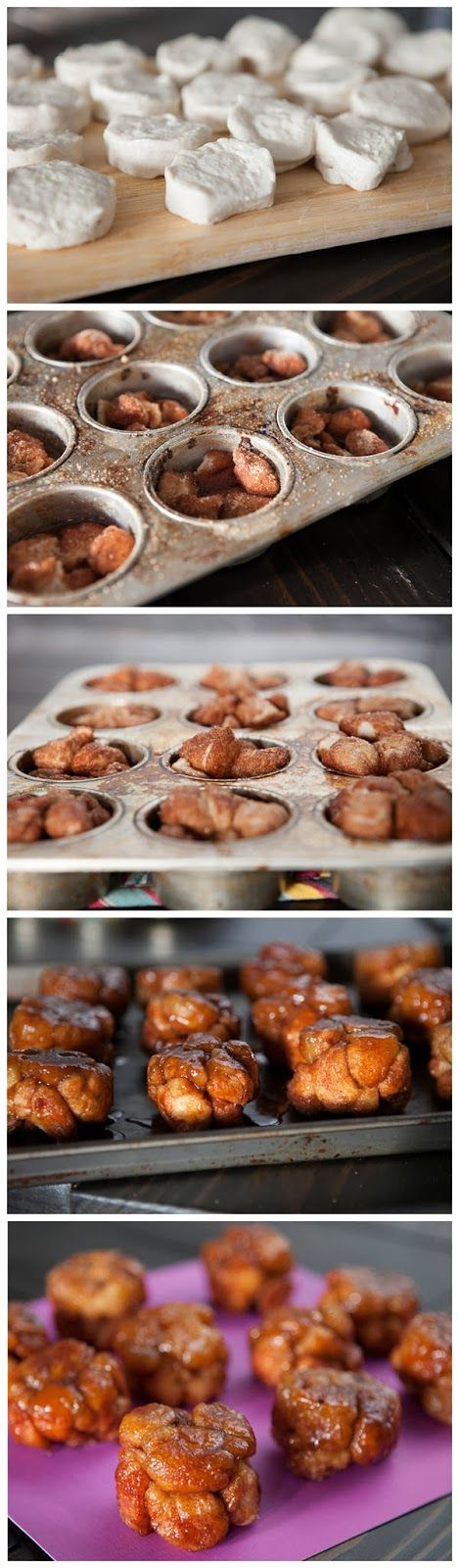 Red Star Recipe: Monkey Bread Muffins