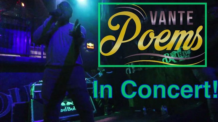 Vante Poems and Jonny Brown Show Opening Up In Ottawa Ontario Bourbon Ro...