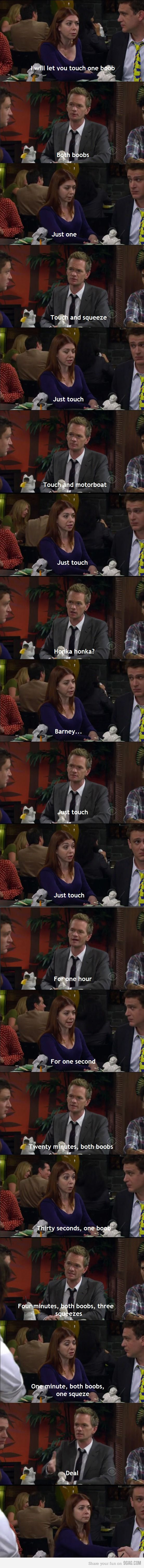 Barney Stinson Making business!