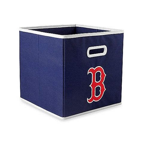 This MLB Red Sox Drawer in Blue is ideal for storing clothing, small toys in your children's room, home office organization, or for any room you need some extra storage. A fun way to show off your team pride and keep your home or office organized.