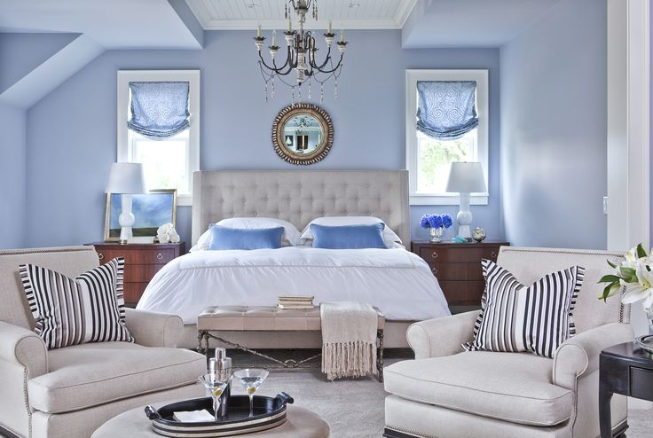 Master Bedroom | Parkwood Rd residence 2 | Photography by Troy Thies | Photo Styling by Shannon Gale Interior | Design by Martha O'Hara Interiors | Built by Great Neighborhood Homes | More info: design@oharainteriors.com