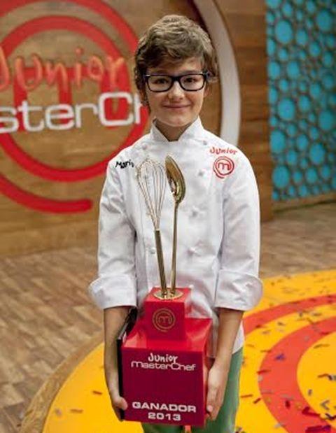 Mario - Primer Ganador de Masterchef Junior España