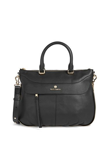 Handbags | Satchels | Dean Pebbled Leather Satchel | Hudson's Bay
