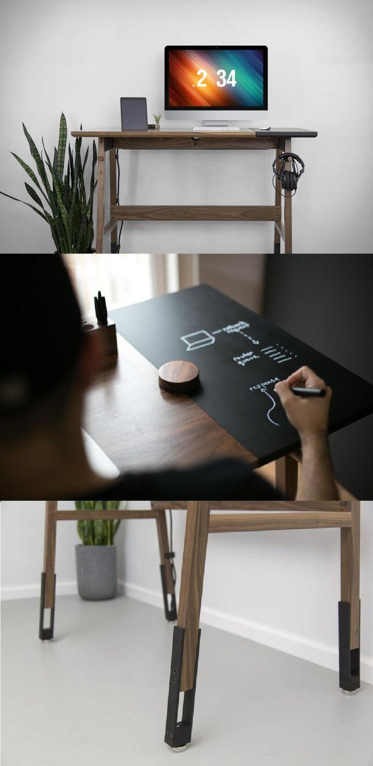 Lid german beer mug hinged lid gaming computer desk ideas - 30 Fabulous Modern Desk Ideas For Functional And Enjoyable Office