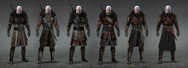 Tw3 Undvik armor concept art by Scratcherpen.deviantart.com on @DeviantArt