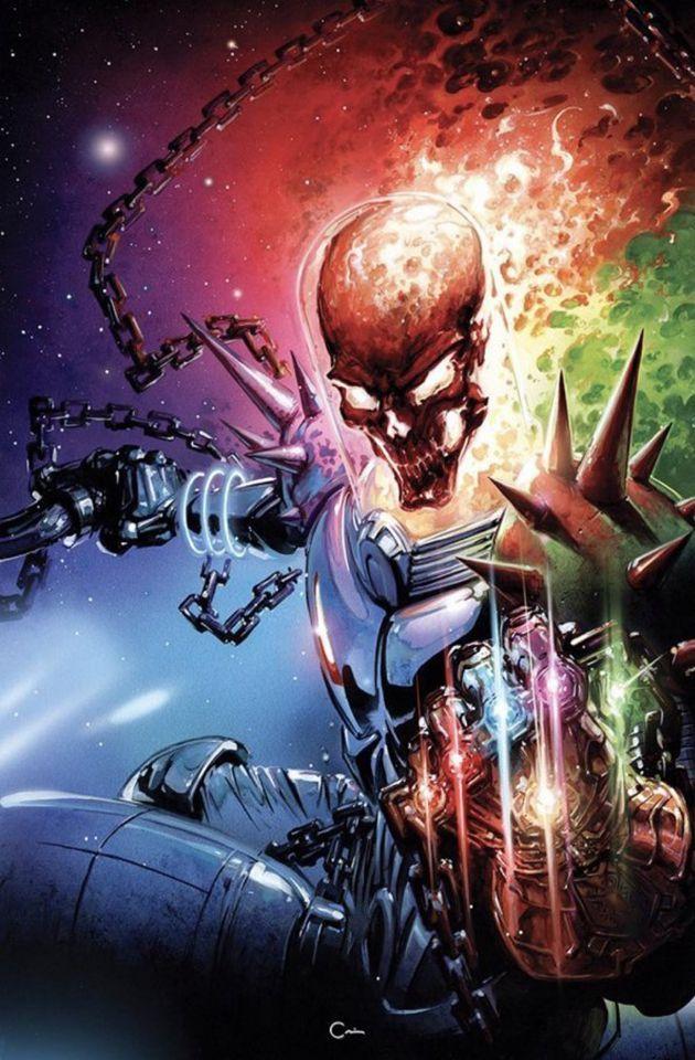 Cosmic Ghost Rider Destroys Marvel History 1 Scorpion Comics Clayton Crain Virgin Variant Cover Ghost Rider Marvel Ghost Rider Wallpaper Marvel Artwork