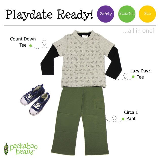 School Picture Day Boy Bean! | Peekaboo Beans - playwear for kids on the grow! | Contact your local Play Stylist or shop On-Vine at www.peekaboobeans.com | #PBPlayfulPairings