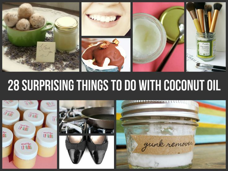 28 Surprising Things To Do With Coconut Oil--hate even the smell of it, but I know a good thing when I see it!
