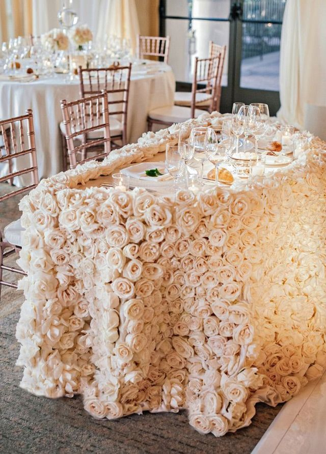 21 Sweetheart Table Ideas for Weddings ~ we ♥ this! moncheribridals.com