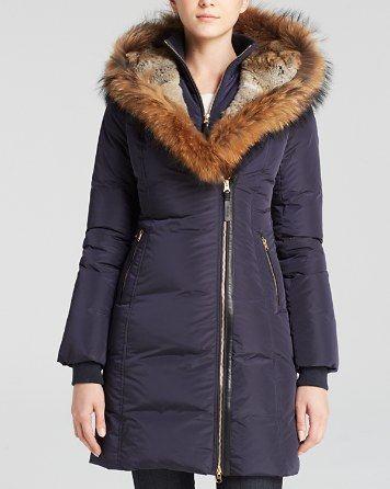 Mackage Fur-Trimmed Trish Down Coat | Bloomingdale's