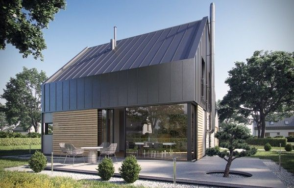 Modern house by Krzysztof Kowal, via Behance