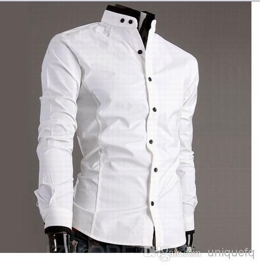 Mens Cotton White Shirts