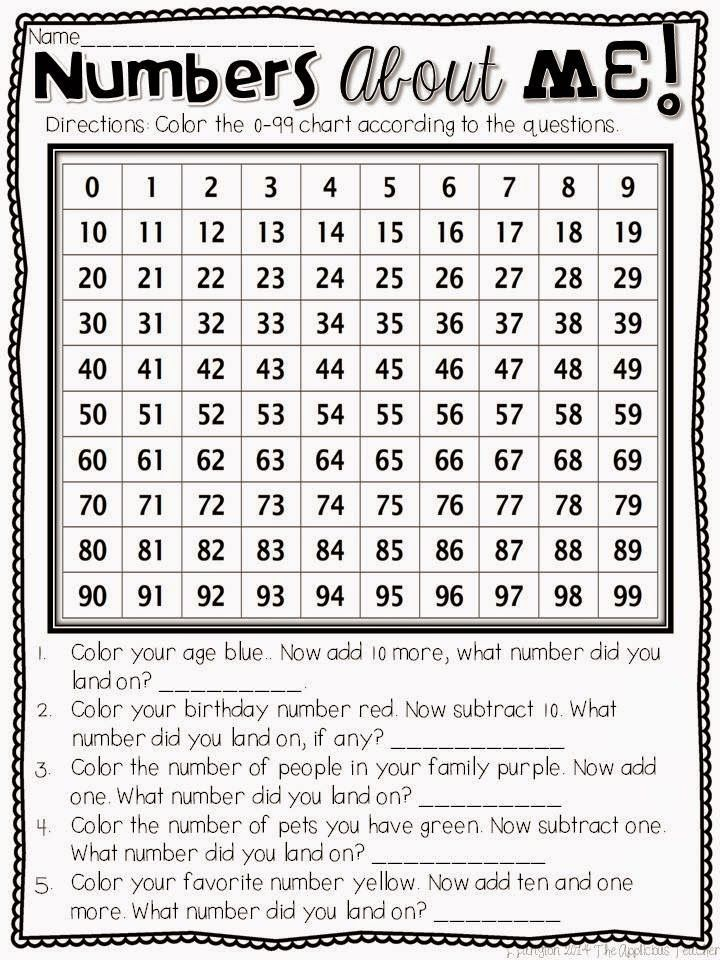 Great freebie for teaching number sense at the beginning of the year #bts #math #FREEBIE