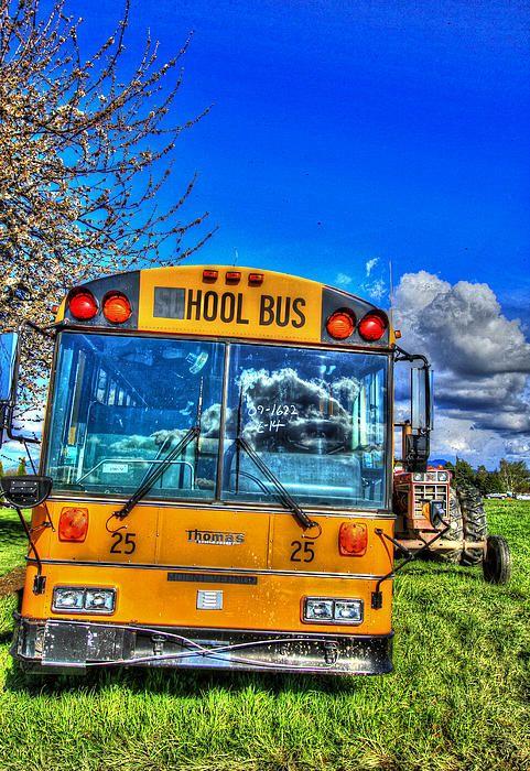 世界のかわいいバスまとめ アメリカのスクールバス