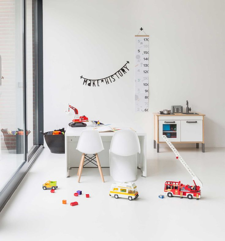 Children S And Kids Room Ideas Designs Inspiration: A Simple White Minimal Playroom