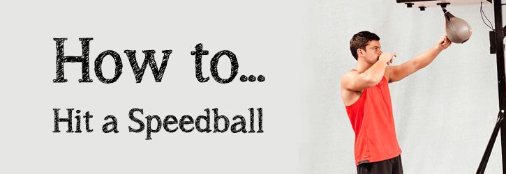 It may look like a simple piece of gym equipment, but the benefits you can get form using it correctly will make a huge difference to your workout. Read our latest blog on How to hit a Speedball.