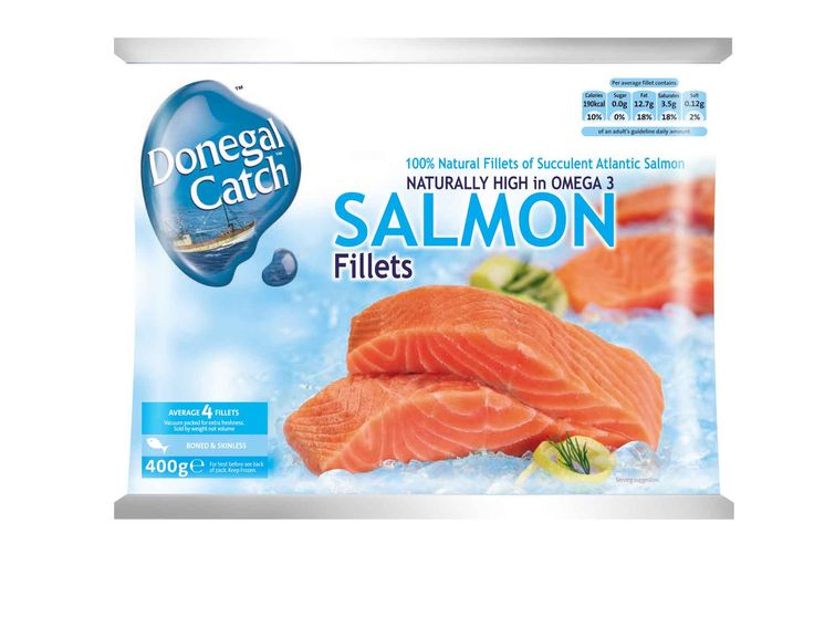 Donegal Catch Frozen Salmon Fillets by Mesh Design