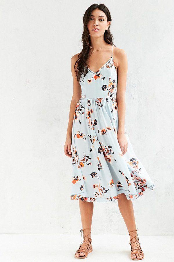 ec08269283 Kimchi Blue Cindy Ladder Lace Midi Dress    as seen on Danielle Campbell  San Lucas