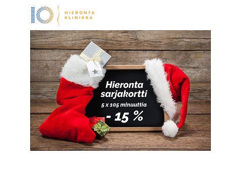 Joulukalenterin 5. luukku | Hieronta Leppävaara | Hieronta IO-Klinikka