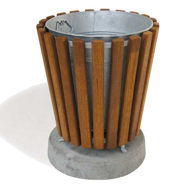 Park Wooden Litter Bin | Falco Ltd