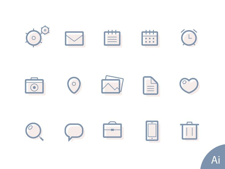 17 best images about graphic icons behance flats lined icons