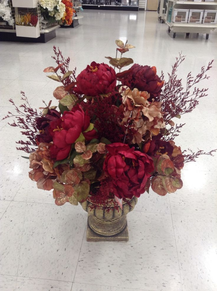 Best floral fall images on pinterest silk flowers