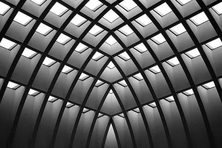 Photograph Geometrics by Paul Kilgour on 500px Alexanderplatz department store. upmost floor