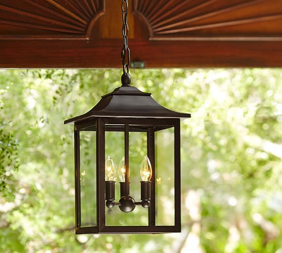 Classic Indoor/Outdoor Pendant | Pottery Barn