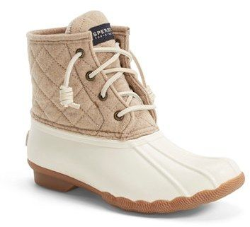 Sperry 'Saltwater' Waterproof Rain Boot (Women) (Nordstrom Exclusive)
