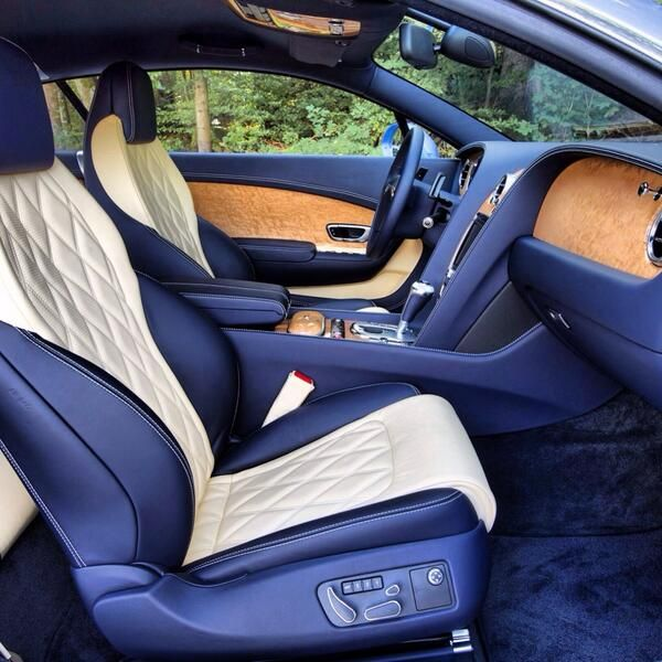 Bentley Luxury Car Inside: Bentley Custom Interior Of #Bentley #ContinentalGT #Speed