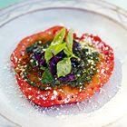 Een heerlijk recept: Jamie Oliver: tomatensalade met basilicum