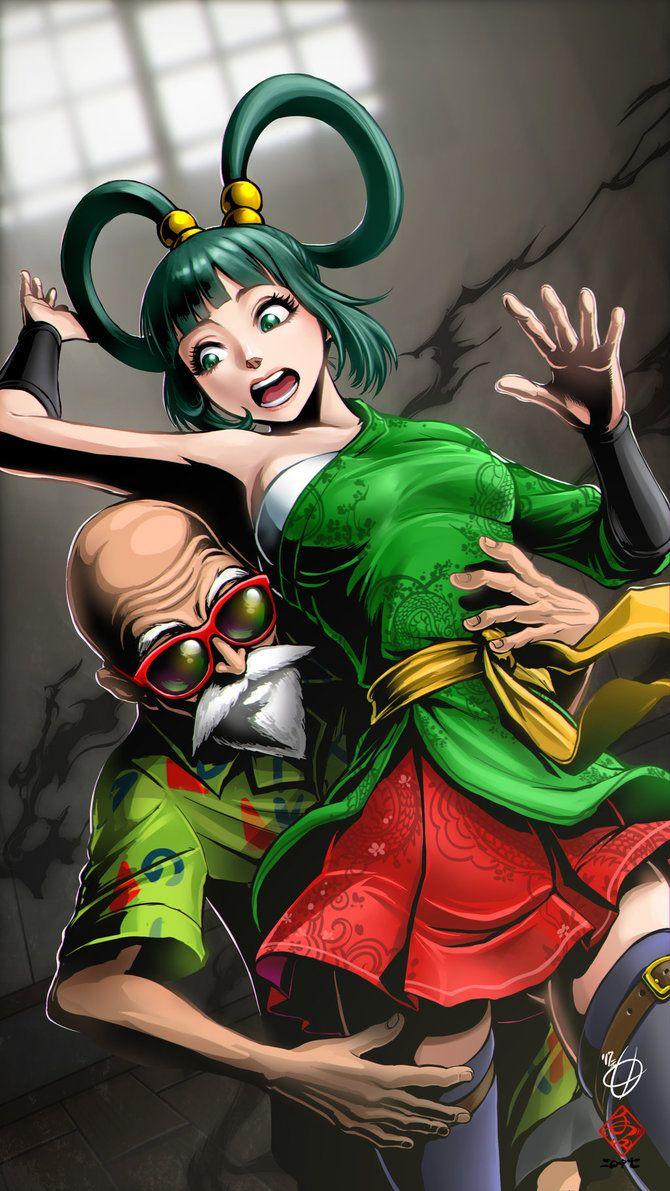 Roshi and Yurin Me gusto la calidad del dibujo....si...eso 7u7