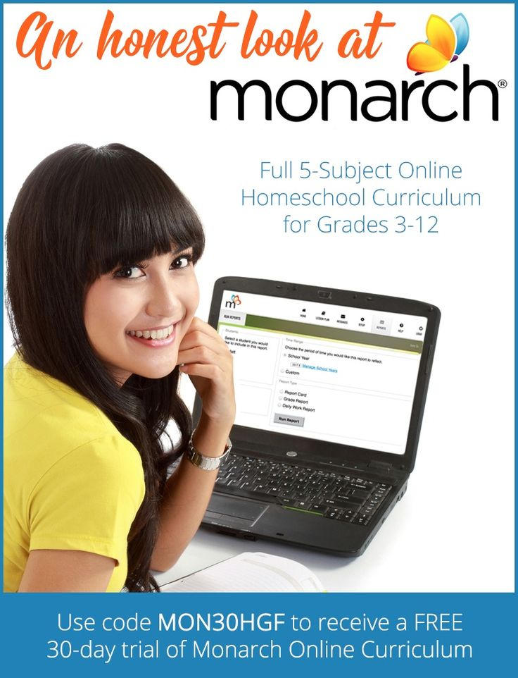An Honest Look at Monarch Online Homeschool Curriculum