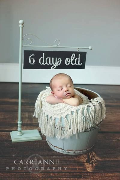 Clever for photographing your new baby. Etsy listing at https://www.etsy.com/listing/177495416/chalkboard-sign
