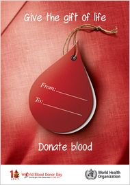 VICKY-This is an example of poster design, where metaphoric imagery has been adopted. For the composition, it was formed with the title and an image of a blood drop. The blood drop can convey the meaning of 'denoting blood'. The picture of the blood drop was printed on a card. The use of card can express the meaning of 'delivering'. Overall, the purpose of generating this poster is to circulate the blood donation campaign and encourage people to donate their blood.