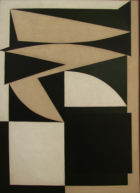 Victor Vasarely (painting) by Martin Beek