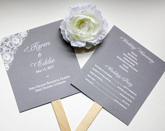 Best Fan Wedding Programs Ideas Only On Pinterest Fan
