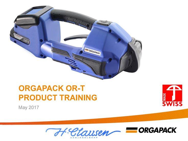 Orgapack Batteristrammere opplærings brosjyre 2017 / 2018