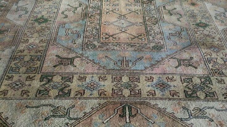 vintage art deco tapijt