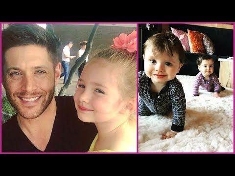 Jensen Ackles's Wife Danneel Ackles & Kids {Justice Jay | Arrow Rhodes | Zeppelin Bram} 2017 - YouTube