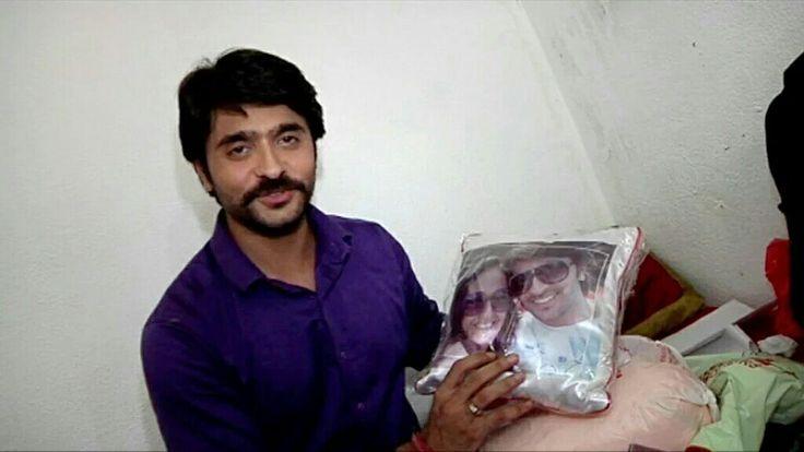 Ashish Sharma bday on set Rangrasiya