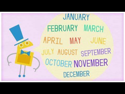 """Time: """"Twelve Months of the Year"""" by StoryBots"""