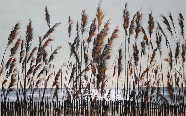 BeachGrass - målning - 100*60cm via Konstlagret. Click on the image to see more!