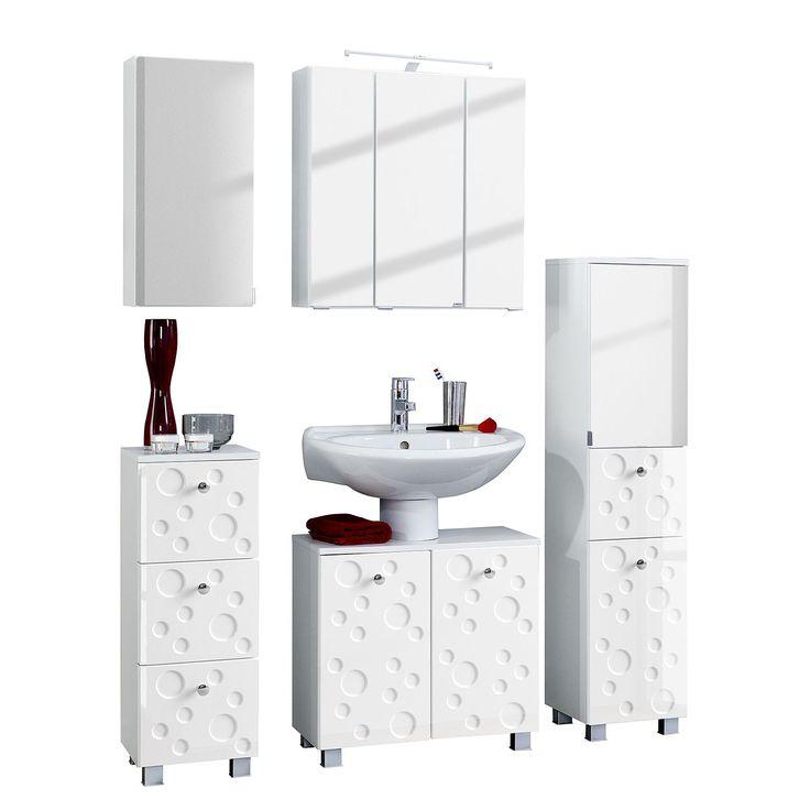 Die besten 25+ Badezimmer 5 teilig Ideen auf Pinterest Daily 5 - badezimmermöbel weiß hochglanz