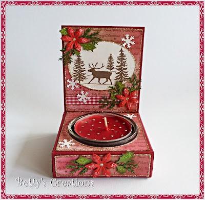 Bettys-creations: Vorschau: Rentier im Schnee