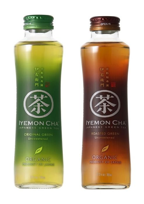 Lyemon cha (japanese green tea) by Suntory Limited | packaging gradient asiatic