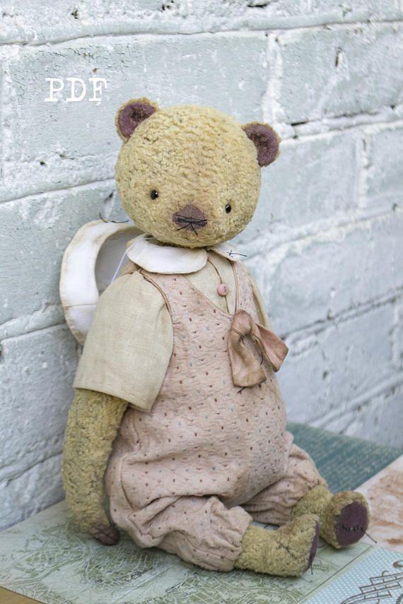 OOAK Artists Teddy Bear pattern teddy pattern teddy bear