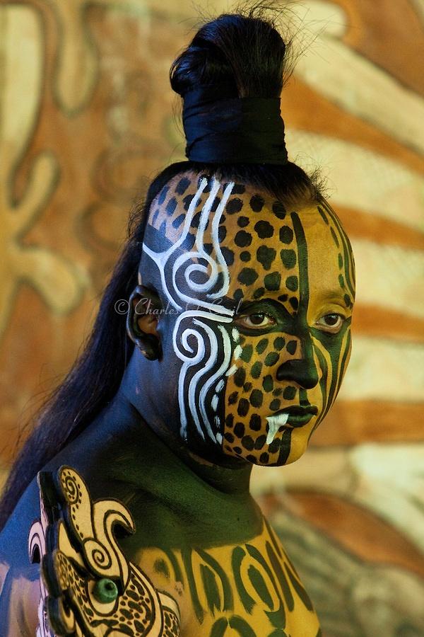 Mayan Dancer, Yucatan, Mexico